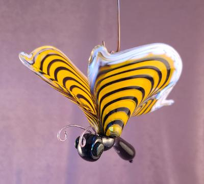 SAC#738 #06212123 butterfly hanging 4.5''Hx5''Wx8''L $125